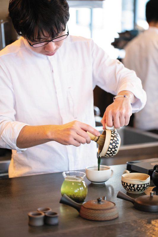 Satén(サテン) japanese tea