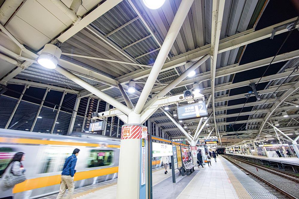 東小金井駅や武蔵小金井駅