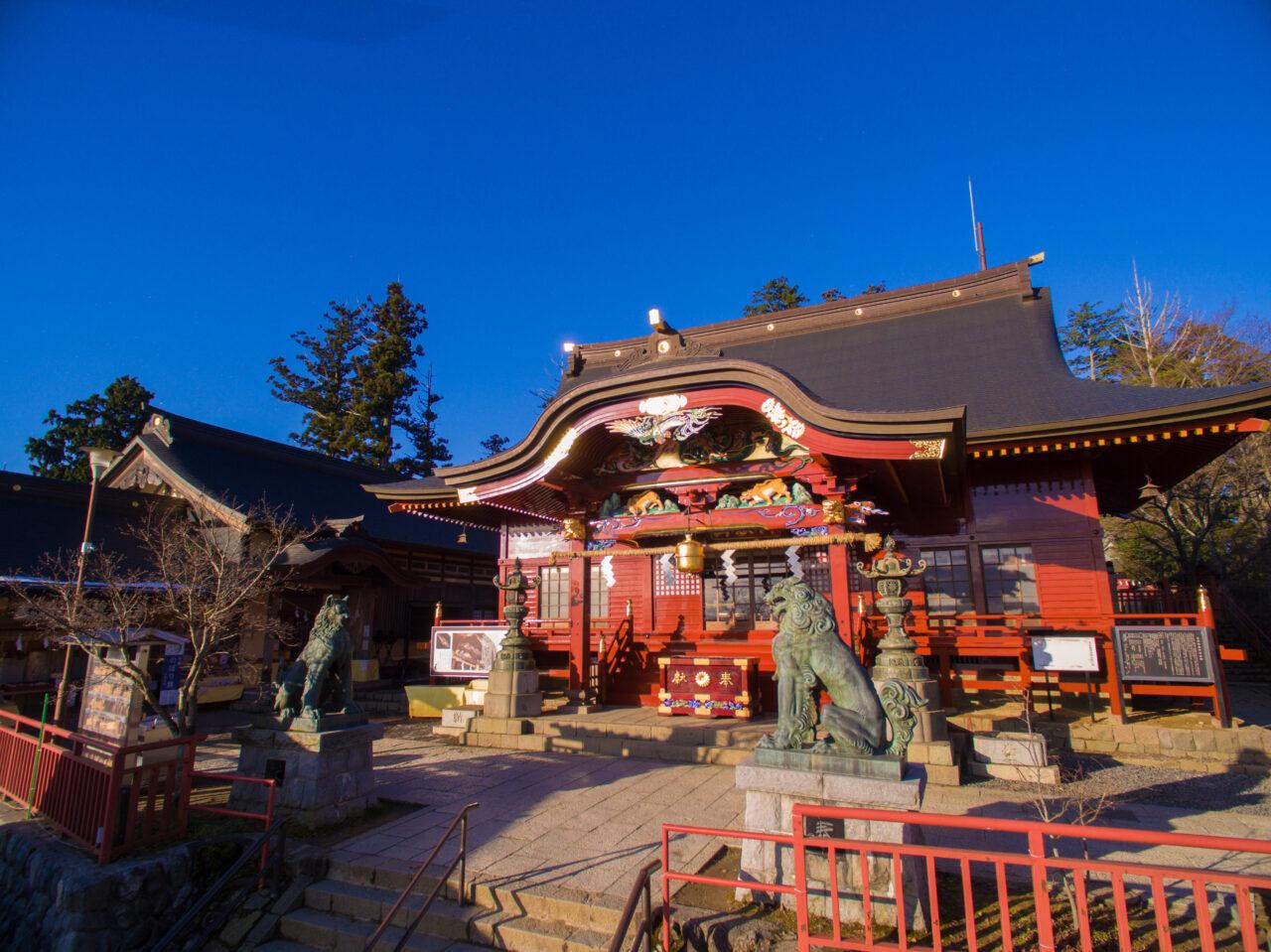 武蔵御岳神社社殿