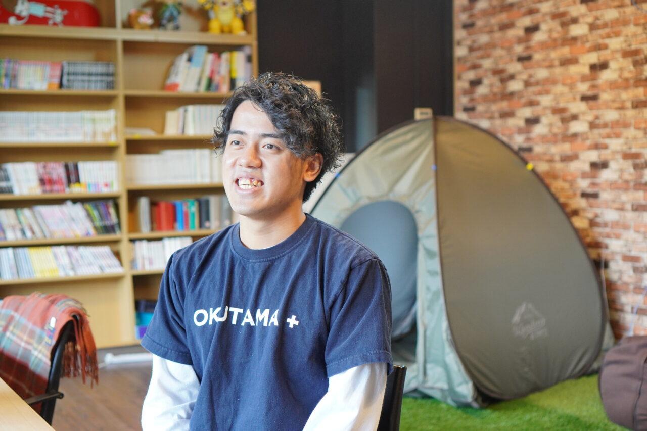 OKUTAMA+の鈴木海斗さん