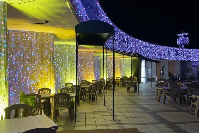 レストラン「ラ・ピシーヌ」