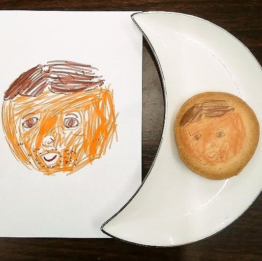 似顔絵クッキー