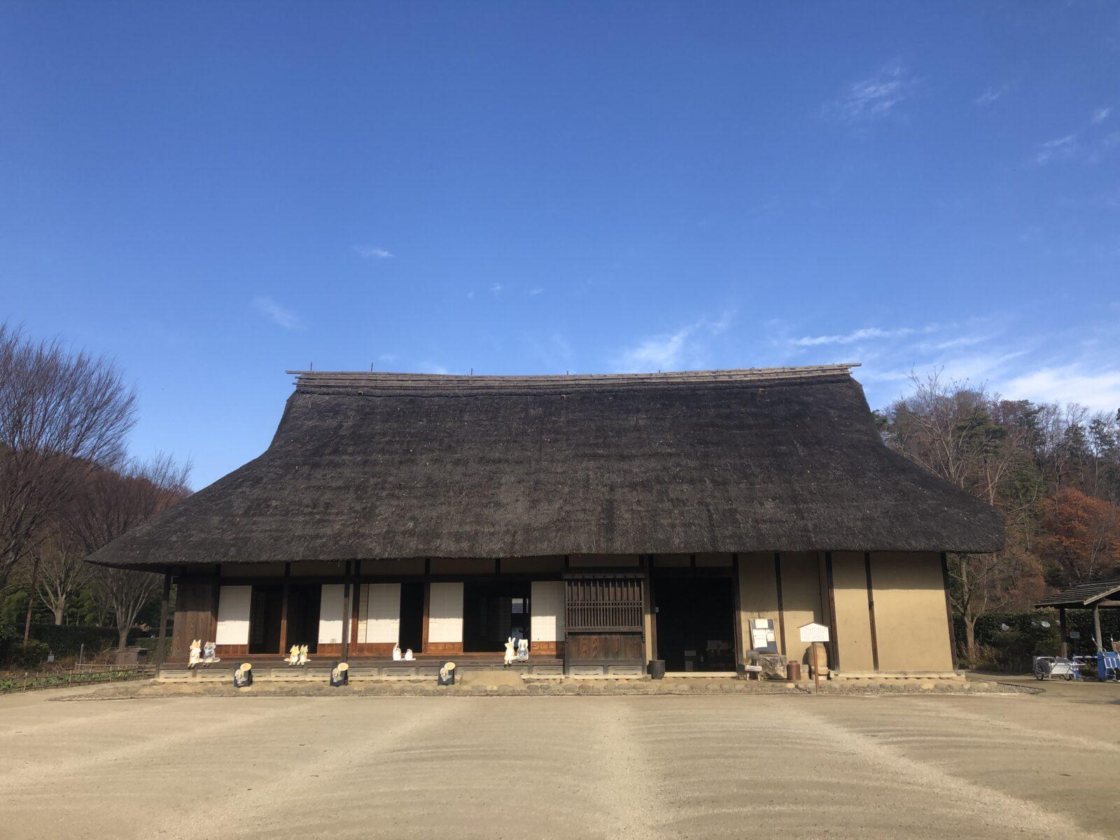 【武蔵村山市】里山散歩でリフレッシュ。都立野山北・六道山公園の「里山民家」