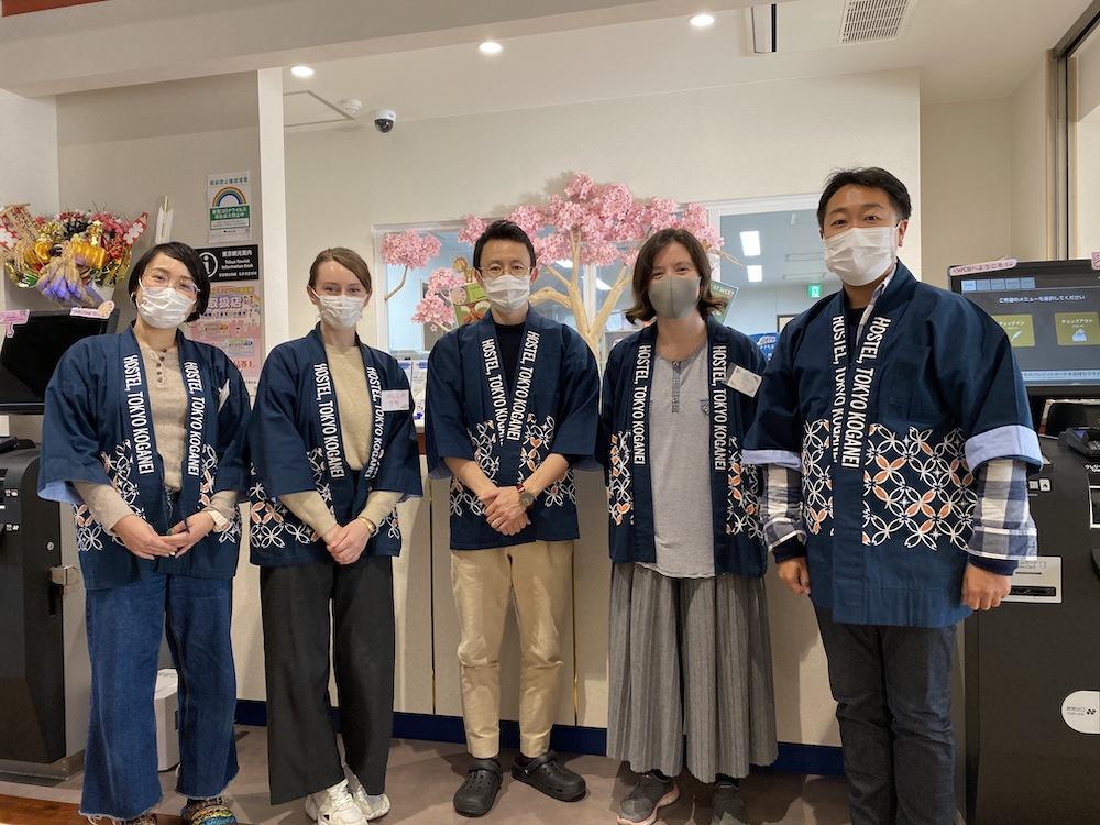 Wild Cherry Blossom -HOSTEL TOKYO KOGANEI