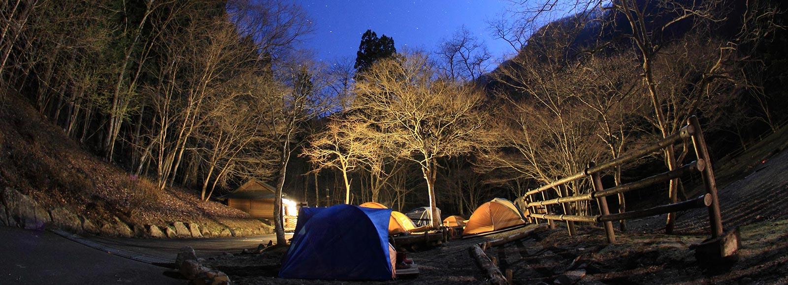 今注目の、大自然の秋キャンプ